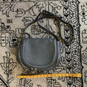 Sole Society Grey Crossbody Bag
